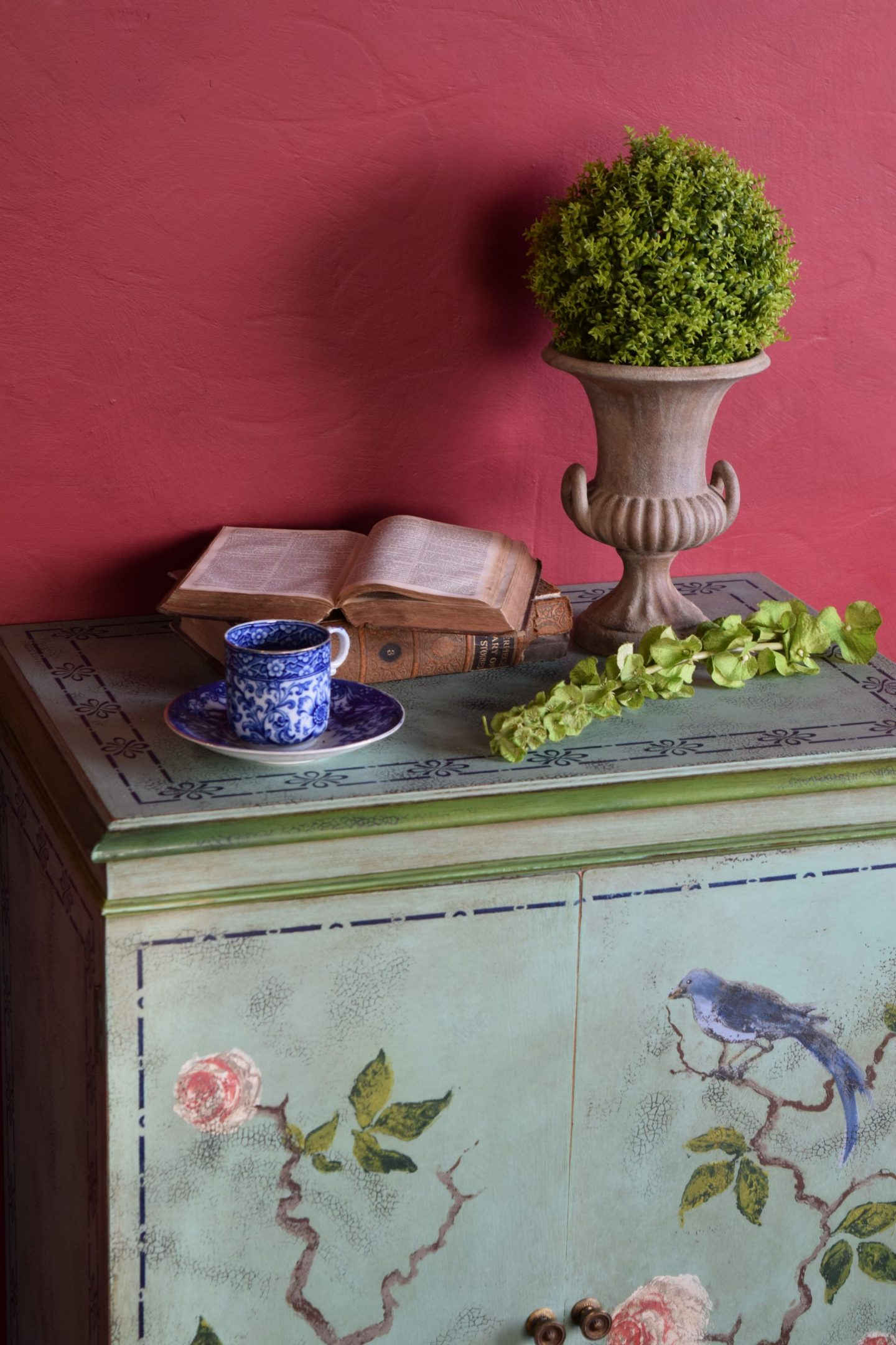 iron orchid chinoserie cabinet