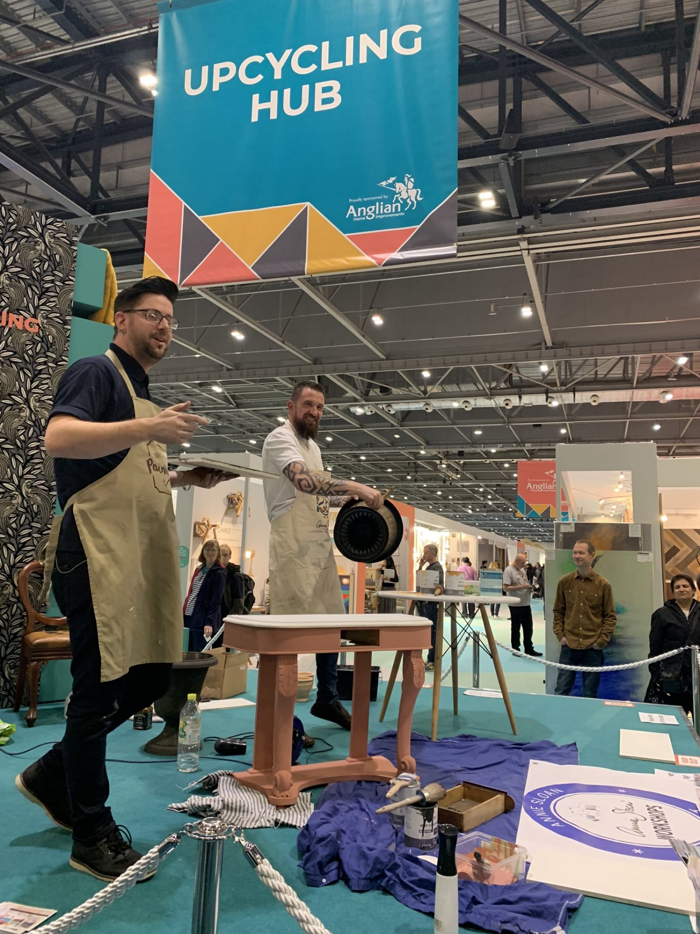 Jonathon at Grand Designs Live London May 2019