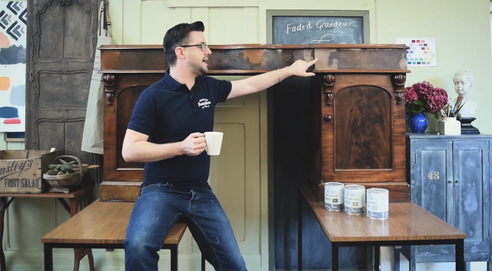 Jonathon Faded Grandeur Desk