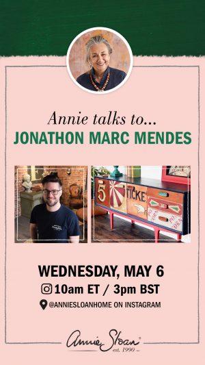 Jonathon Marc Mendes talk to Annie Sloan