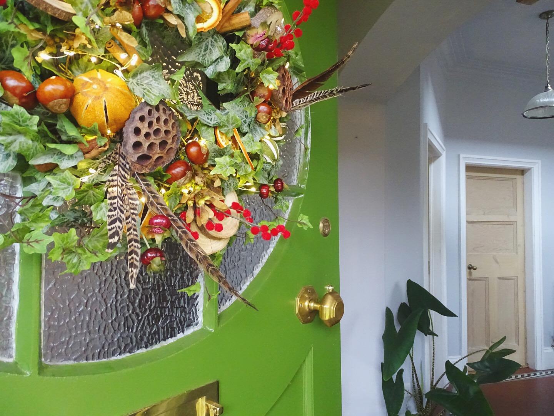 Green doors of Dunelm and Jonathon Marc Mendes